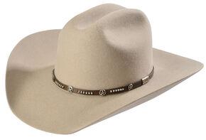 Larry Mahan Men's 3X Lampasas Cowboy Hat, Stone, hi-res