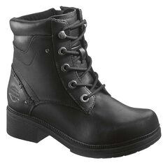 Harley Davidson Elowen Lace-Up Boots, , hi-res