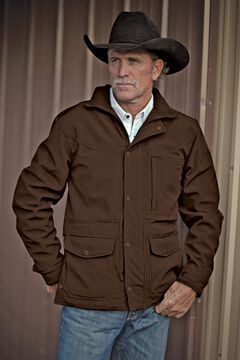 STS Ranchwear Men's Brazos Brown Jacket - Big & Tall - 2XL-3XL, , hi-res