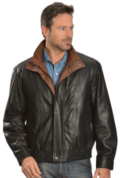 Scully Double Collar Leather Jacket, , hi-res