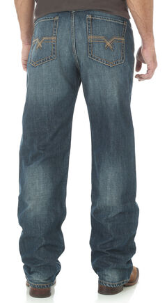 Wrangler 20X Men's Indigo No.33 Extreme Relaxed Fit Jeans - Straight Leg, , hi-res