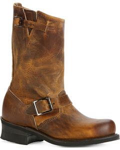 Frye Women's Engineer 12R Boots - Round Toe, , hi-res