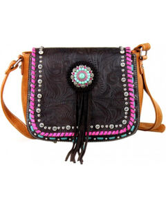 Montana West Concho Collection Crossbody Bag, , hi-res