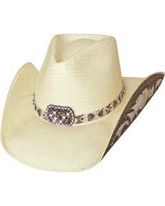 Bullhide Cowgirl Fantasy Shantung Straw Cowgirl Hat, , hi-res