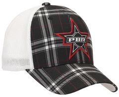 PBR Plaid Embroidered Logo Patch Flex Fit Casual Cap, , hi-res