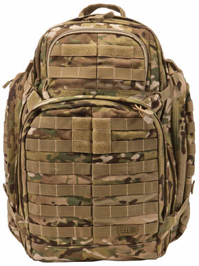 5.11 Tactical RUSH 72 Camo Backpack, Camouflage, hi-res