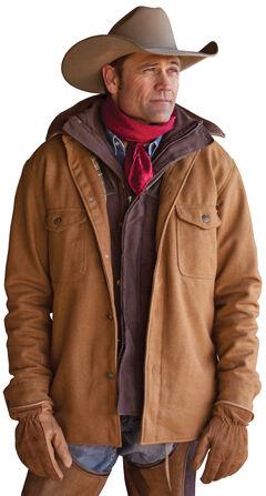 STS Ranchwear Men's Clifton Camel Wool Jacket - Big & Tall - 2XL-3XL, , hi-res