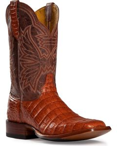 Cinch Classic Caiman Belly Cowgirl Boots - Square Toe, , hi-res