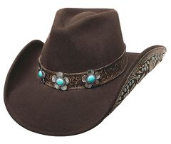 Bullhide Sweet Emotion Wool Cowgirl Hat, , hi-res