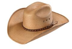 Larry Mahan 30X Lawton Palm Straw Cowboy Hat, , hi-res