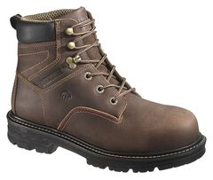 "Wolverine Nolan 6"" Waterproof Work Boots - Composite Toe, , hi-res"
