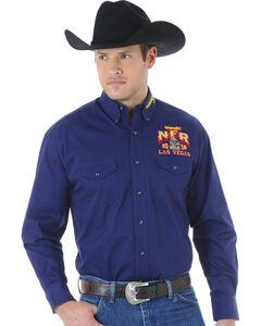 Wrangler Men's NFR Western Logo Shirt, , hi-res