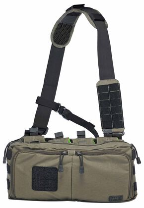5.11 Tactical 4-Banger Bag, Dark Brown, hi-res