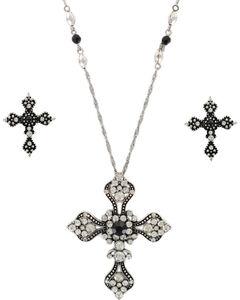 Shyanne Women's Vintage Cross Jewelry Set, , hi-res