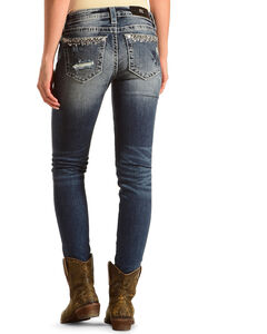 Miss Me Women's Plain Pocket Skinny Jeans, , hi-res