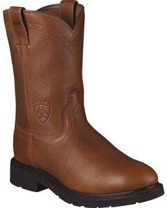 Ariat Sierra Cowboy Work Boots - Round Toe, , hi-res
