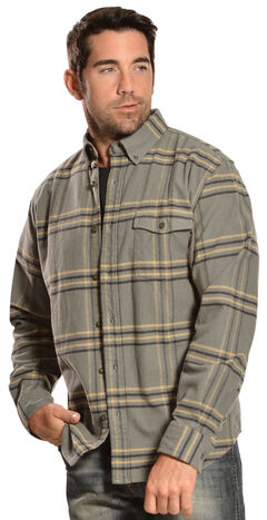 Woolrich Tiadaghton Field Grey Plaid Shirt, , hi-res