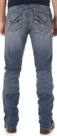 Wrangler Men's Indigo 20X No. 42 Vintage Boot Cut Jeans, , hi-res