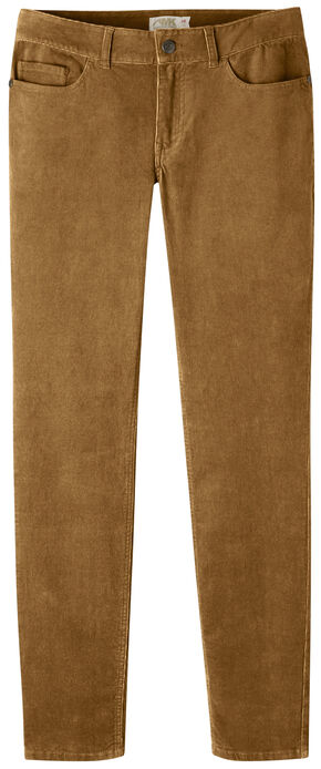 Mountain Khakis Women's Canyon Cord Slim Fit Skinny Pants - Petite, Brown, hi-res