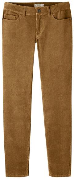Mountain Khakis Women's Canyon Cord Slim Fit Skinny Pants, , hi-res