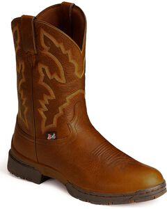Justin Men's George Strait 3.1 Roper Boots - Round Toe, , hi-res