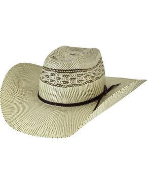 Bailey Men's Shandrach Straw Western Hat, Natural, hi-res