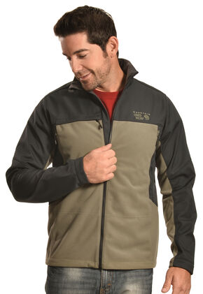 Mountain Hardwear Men's Mountain Tech II Jacket, Green, hi-res