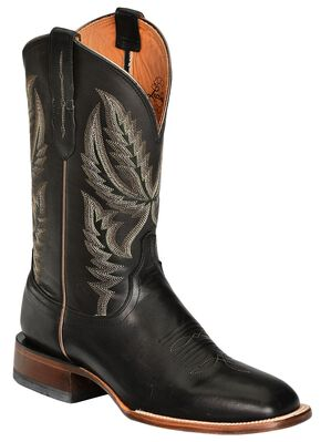 Lucchese Handcrafted 1883 Ranch Hand Cowboy Boots - Square Toe, Black, hi-res
