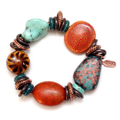 Treska Women's Santa Fe Beaded Bracelet , , hi-res