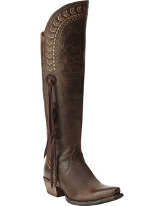 Ariat Women's Tallulah Prairie Brown Tall Boots, , hi-res