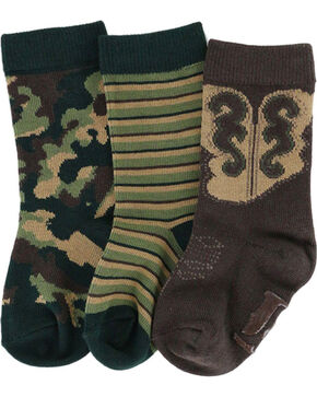 Cody James Boys' Pattern Sock Set, Multi, hi-res