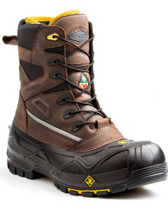Terra Men's Brown Crossbow XS Boots - Composite Toe, , hi-res