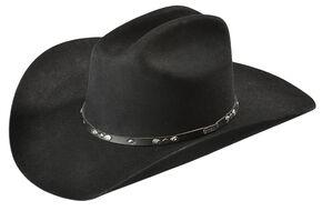 Stetson 3X Hondo Wool Cowboy Hat, Black, hi-res
