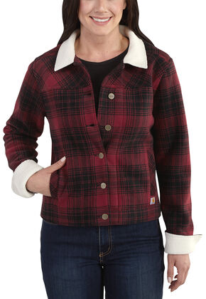 Carhartt Women's Cedar Jacket, Red, hi-res