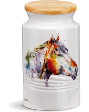 Demdaco Good Lookin' Horse Large Canister, Multi, hi-res
