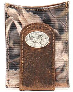 Ariat Camo Deer Concho Money Clip, , hi-res