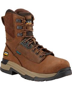 "Ariat Mastergrip 8"" H2O Work Boots - Composite Toe, , hi-res"
