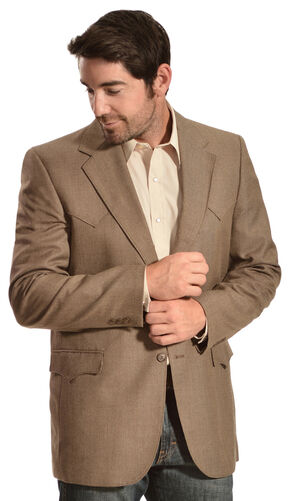 Circle S Men's Plano Sport Coat, Whiskey, hi-res