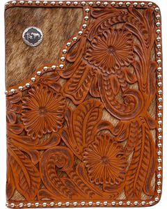 3D Filigree Floral Leather Bible Case, , hi-res