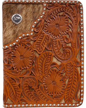 3D Filigree Floral Leather Bible Case, Multi, hi-res