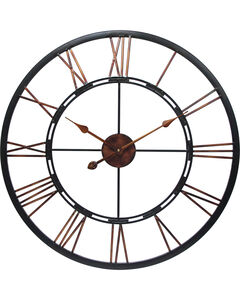 "Infinity Instruments 28"" Metal Fusion Wall Clock, , hi-res"