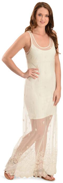 Black Swan Women's Puebla Lace Maxi Dress, , hi-res