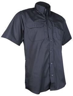 Tru-Spec Men's Black 24-7 Short Sleeve Dress Shirt , , hi-res