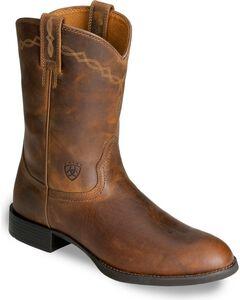Ariat Heritage Roper Cowboy Boots, , hi-res