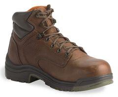 "Timberland Pro Coffee 6"" TiTAN Boots - Soft Toe, Coffee, hi-res"