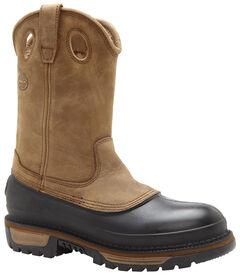 Georgia Muddog Wellington Pull On Work Boots - Round Toe, , hi-res