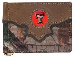 Texas Tech  Camo Concho Wallet, Camouflage, hi-res