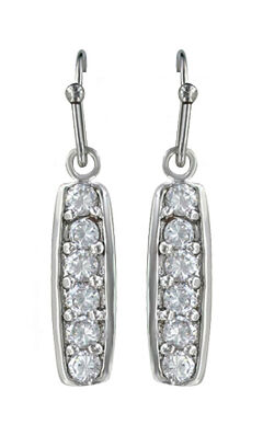 Montana Silversmiths Women's Prairie Aster Earrings, , hi-res