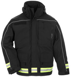 5.11 Tactical Men's Responder Parka - 3XL-4XL, Black, hi-res