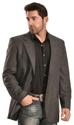 Circle S Men's Grey Odessa Sport Coat, , hi-res